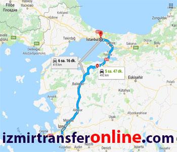 İzmir İstanbul vito transfer